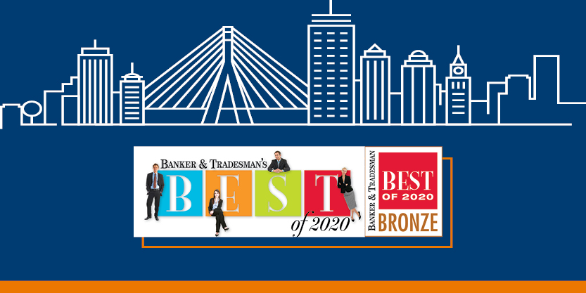 McCall & Almy named a Banker & Tradesman's Best of 2020 in the Commercial Real Estate Firm and Project Management categories.