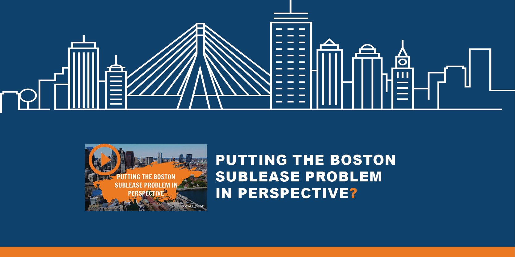 Putting the Boston Sublease Problem in Perspective
